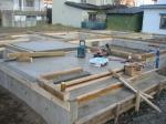 A邸 土台敷き